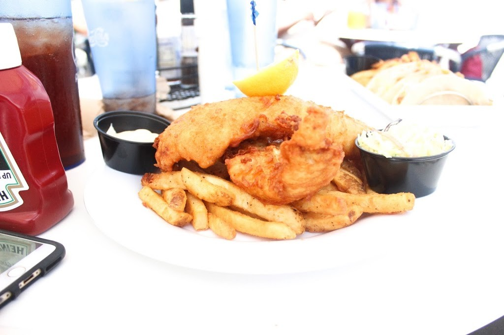 Lunch on the pier