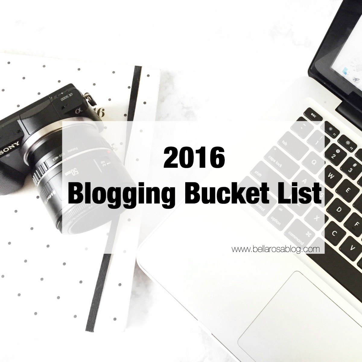 Blogging Bucket List   2016