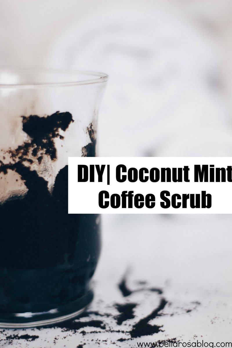 DIY | Coconut Mint Coffee Scrub
