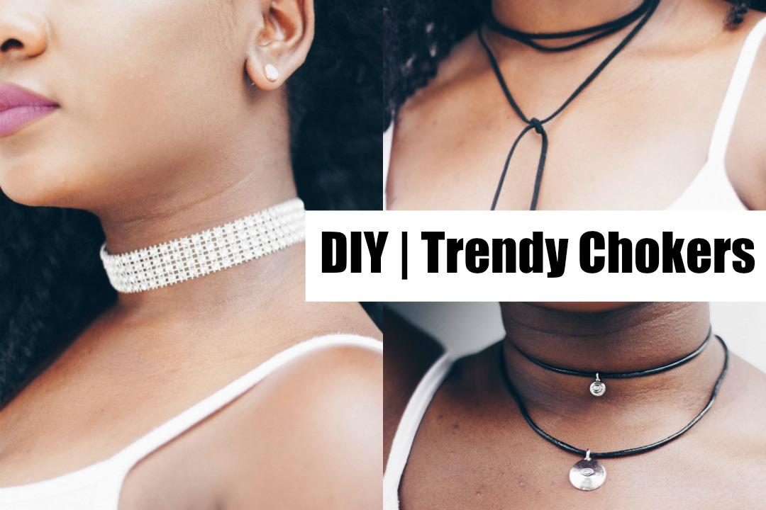 DIY: Trendy Chokers